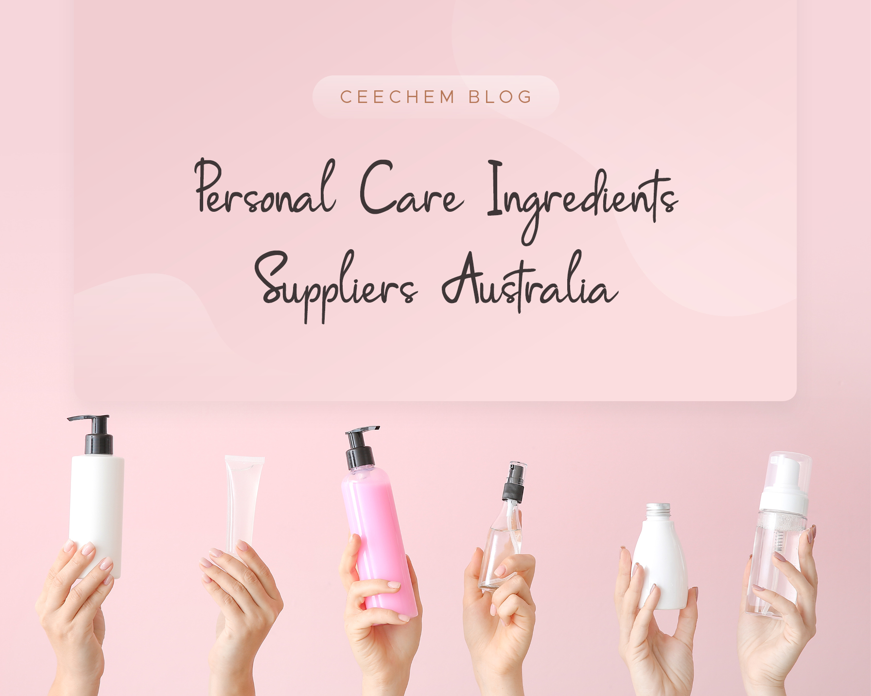 Personal Care Ingredients Suppliers Australia
